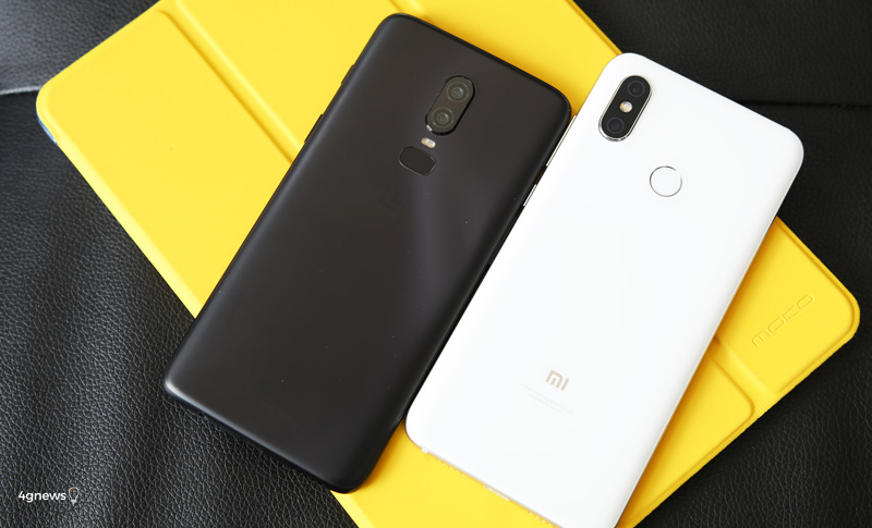 Android. Xiaomi Mi 8 ou OnePlus 6, qual a melhor compra?