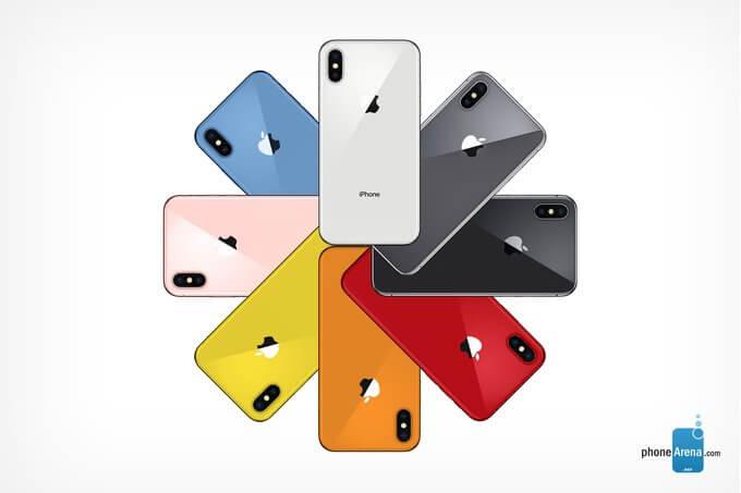 Apple. Estas deverão ser as novas cores do próximo iPhone