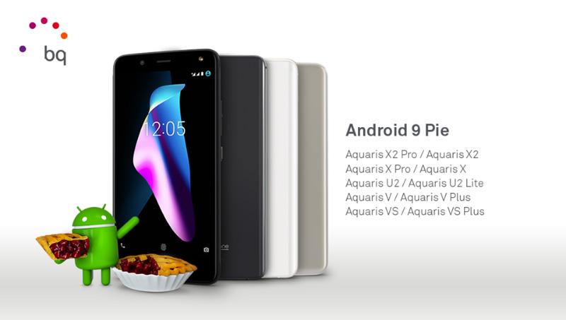 Android Pie BQ atualização Android
