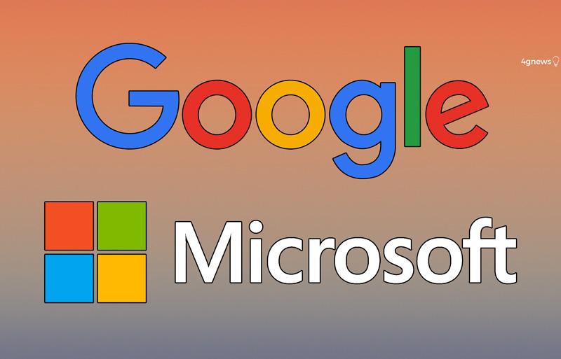 Google e Microsoft poderão estar a preparar uma parceria sem igual