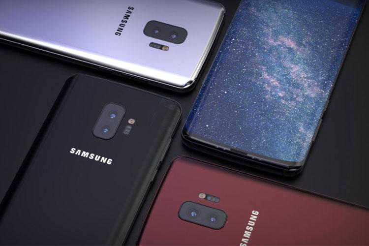Samsung Galaxy S10 impressão digital