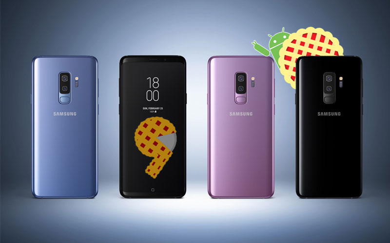 Samsung Galaxy S9 Android Pie 4gnews