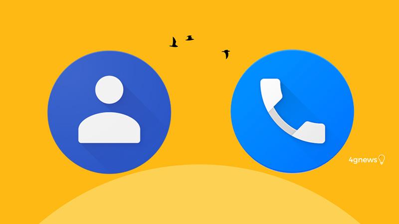 Telefone e contactos Google: Assim será o design das aplicações Android