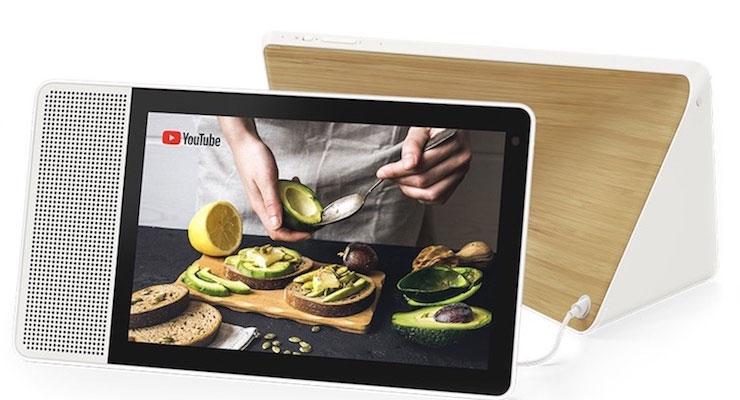 Google Lenovo Smart Display Google Home 4gnews Echo Show