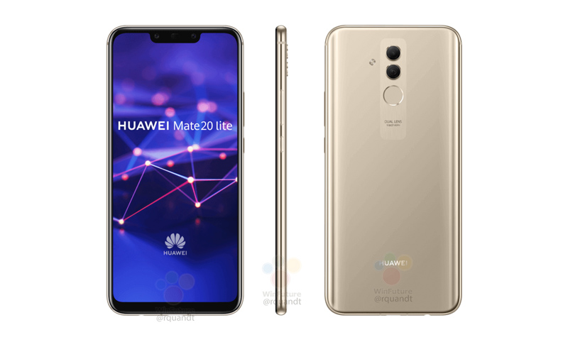 Huawei Mate 20 Lite: Novas imagens confirmam design do smartphone