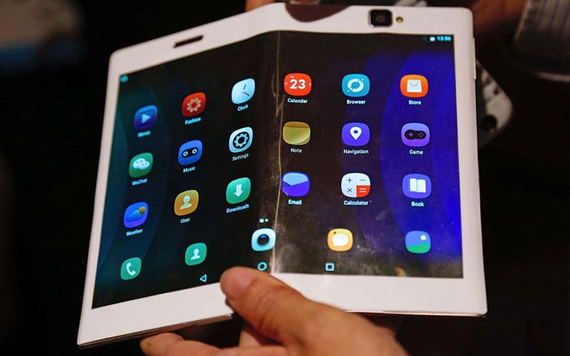 LG Smartphone dobrável Samsung Huawei