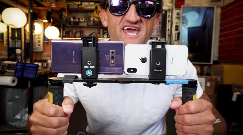 Samsung Galaxy Note 9 dá uma tareia no iPhone x na qualidade de vídeo