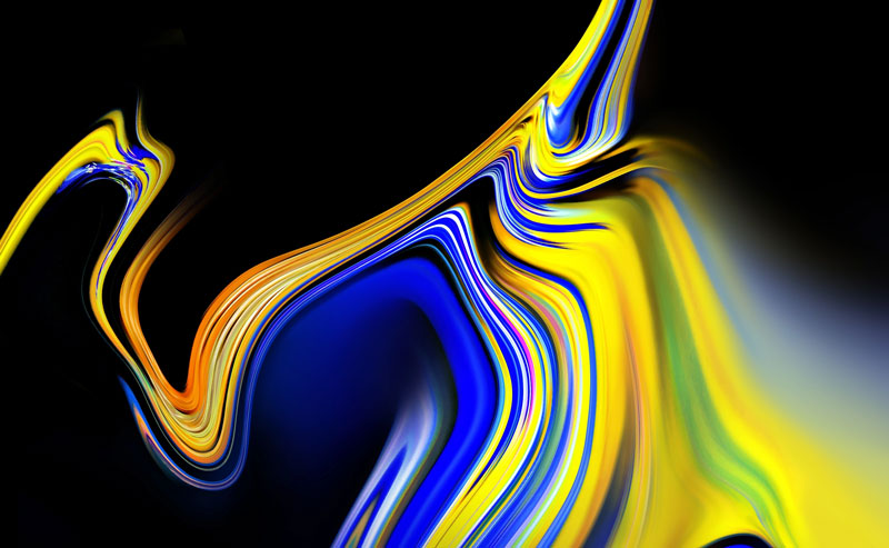 Samsung Galaxy Note 9: Faz o download dos Wallpapers do smartphone