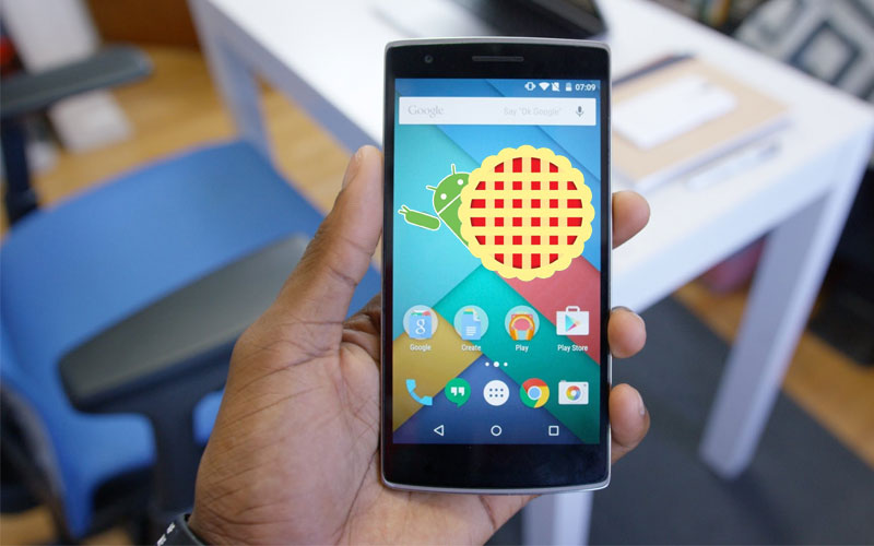 OnePlus One Android Pie 4gnews