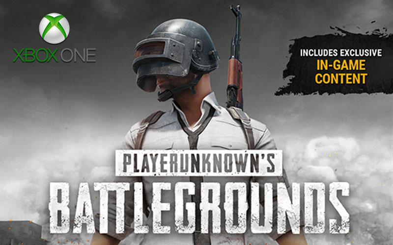PUBG para Xbox versão final