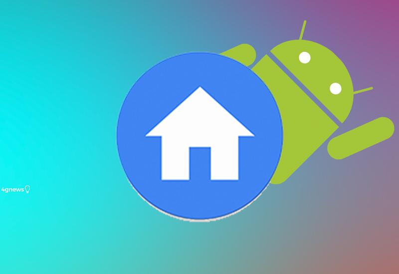 Google. Se gostas do design do Android puro este launcher é para ti