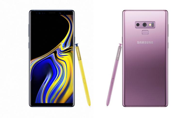 Samsung Galaxy Note 9 Android Câmara Lenta
