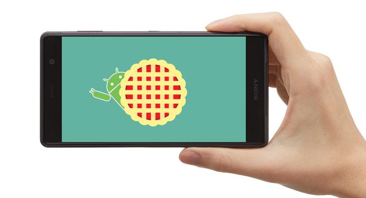 Sony Xperia Android Pie 4gnews actualização infográfico