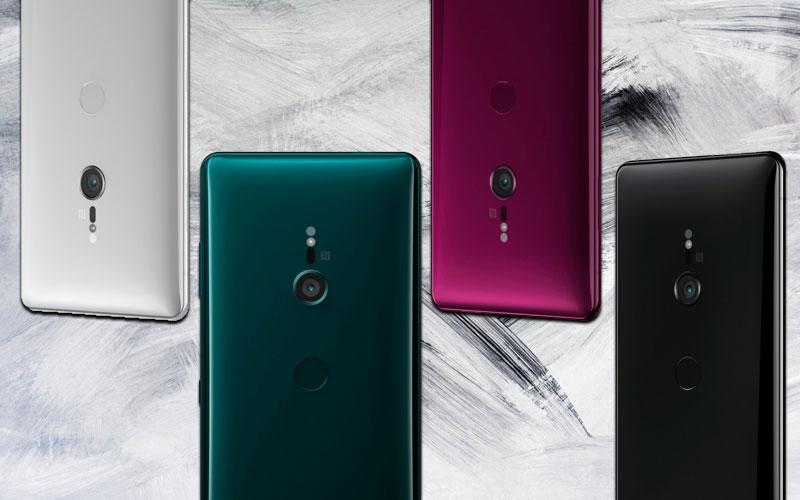 Sony Xperia XZ3 cores design 4gnews smartphone android topo de gama
