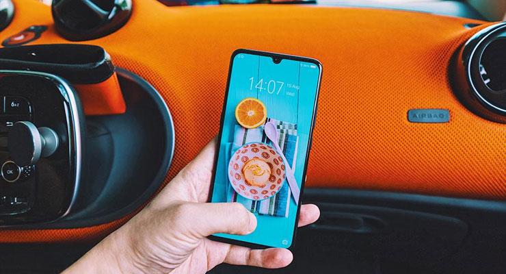 Vivo X23 smartphone android 4gnews mini notch