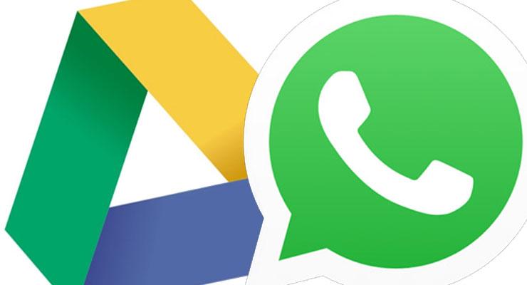 WhatsApp Google Drive espaço ilimitado