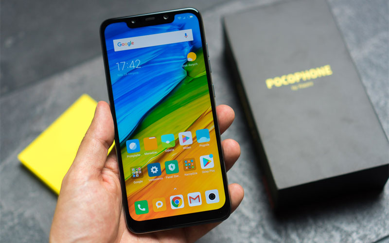 Xiaomi Pocophone F1 smartphone android flagship killer 4gnews