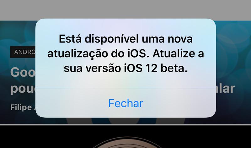Apple iOS 12 tem um bug super irritante e que nada podes fazer