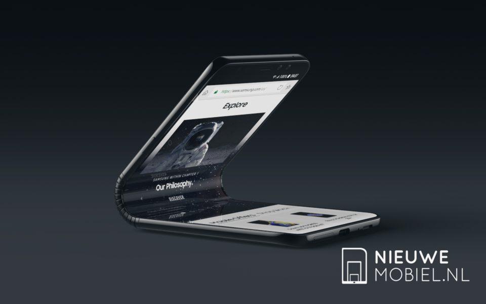 Samsung Google Android smartphone dobrável