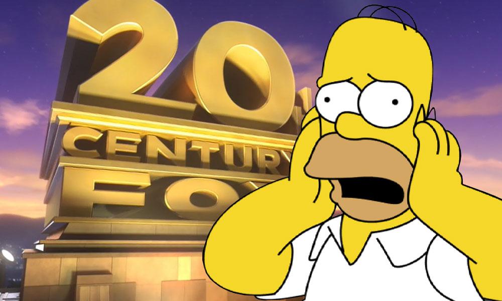 Simpsons Fox Disney