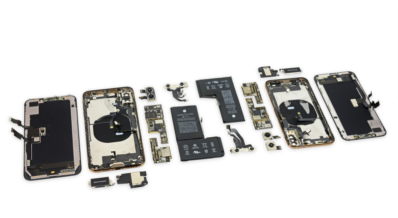 Apple iPhone XS Max iFixit
