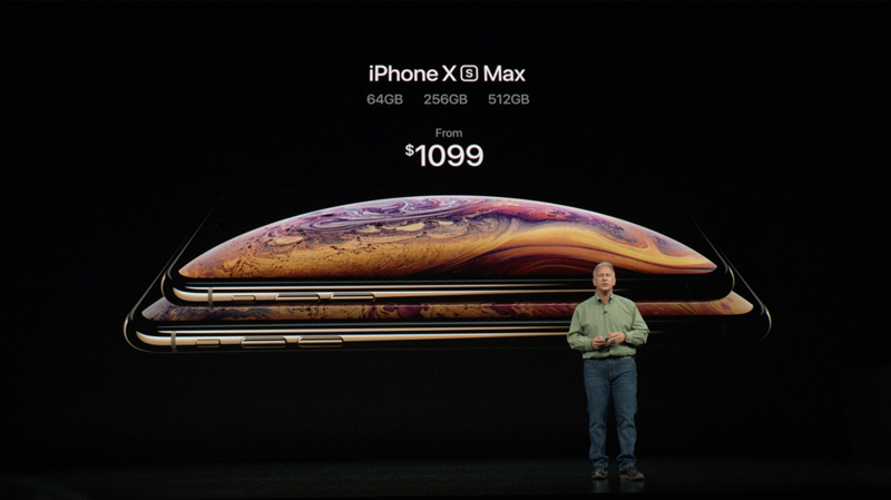Apple iPhone Xs Max iOS
