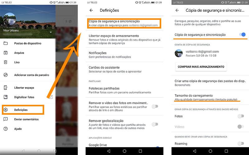 Dicas armazenamento smartphone Android 1 4gnews