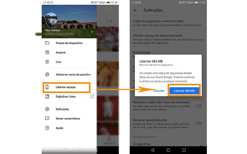 Dicas armazenamento smartphone Android 2 4gnews