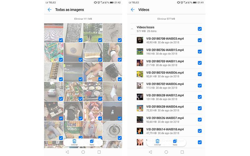 Dicas armazenamento smartphone Android 3 4gnews