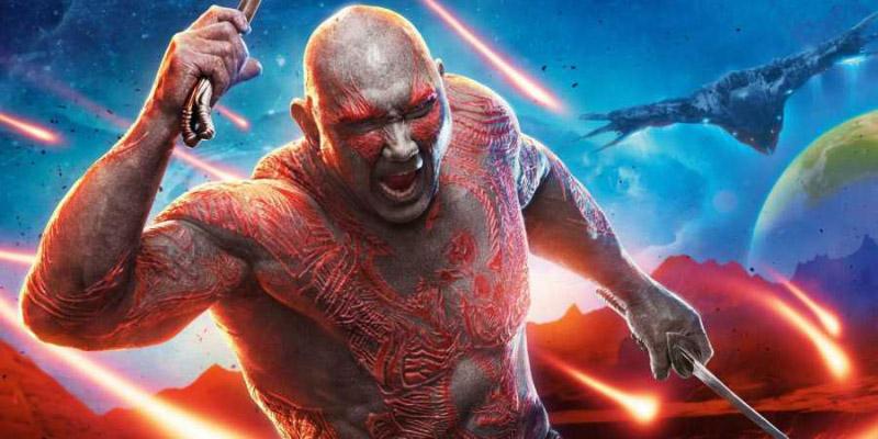 Drax Dave Bautista Guardiões da Galáxia Guardians of the Galaxy 3 filme
