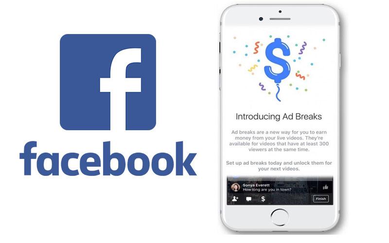 Facebook Ad Breaks anuncios rede social 4gnews