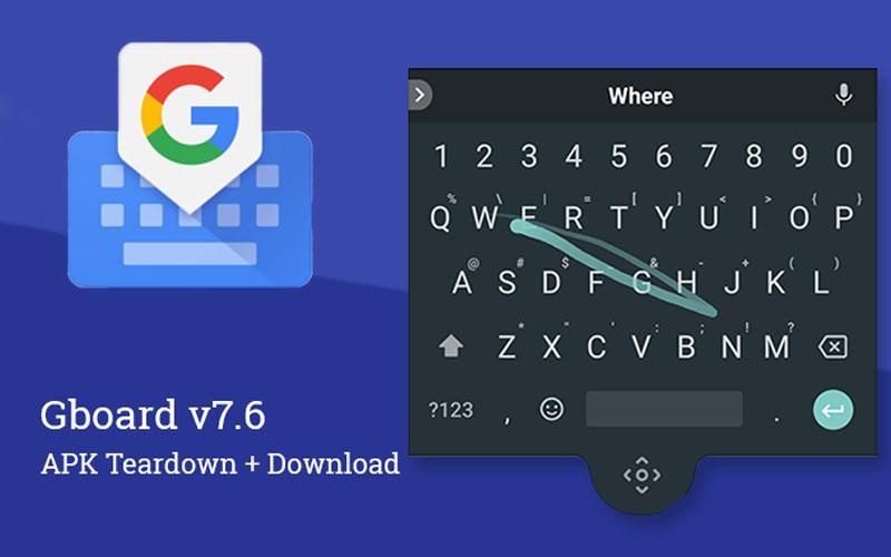 Google Gboard flutuar teclado android 4gnews