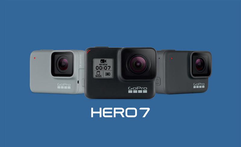 GoPro Hero 7 anunciadas de forma oficial! As câmaras de ação a comprar