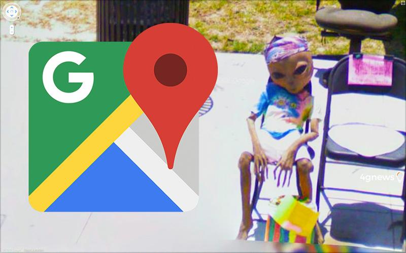Google Maps: As 17 imagens estranhas apanhadas pelas câmaras