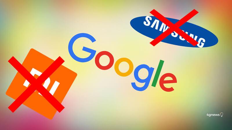 Google recomenda 52 smartphones Android e ignora Samsung e Xiaomi