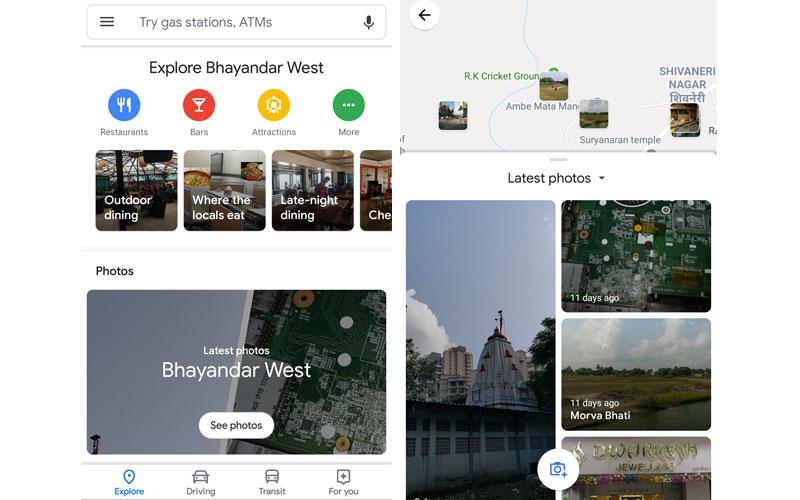 Google Maps Fotos 4gnews