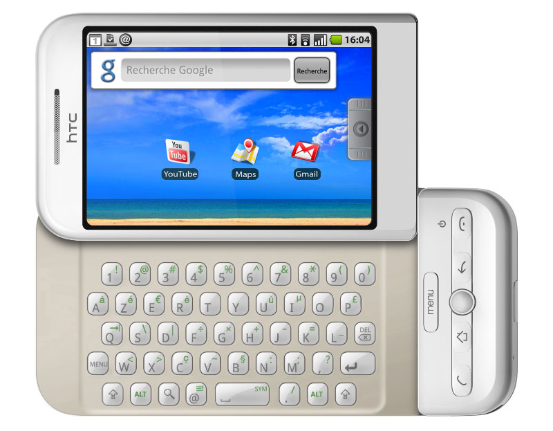 HTC Dream sistema operativo Android Google