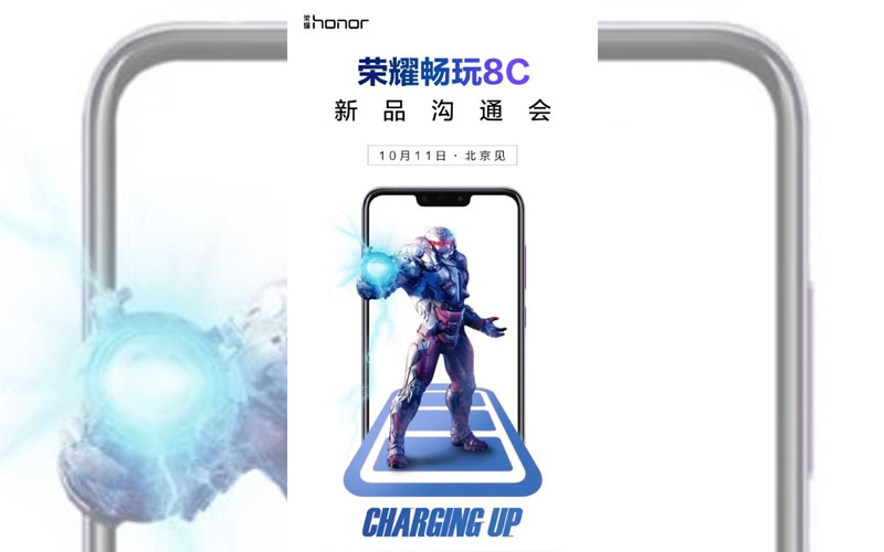 Huawei Honor 8C smartphone android 4gnews