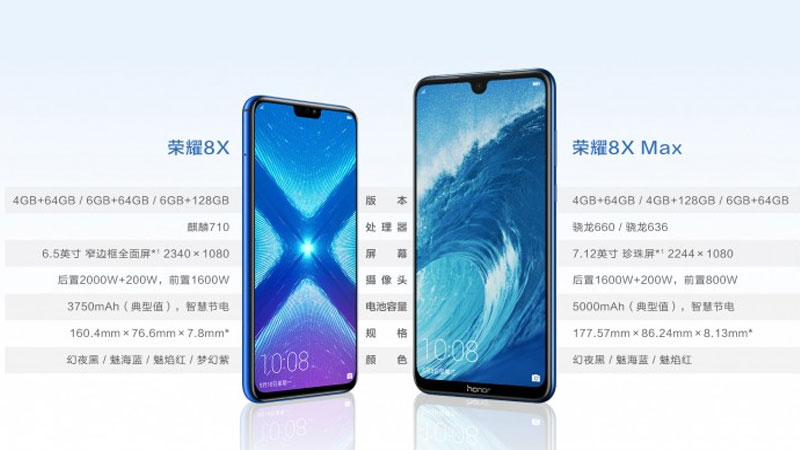 Huawei Honor 8X Max Android 2 4gnews