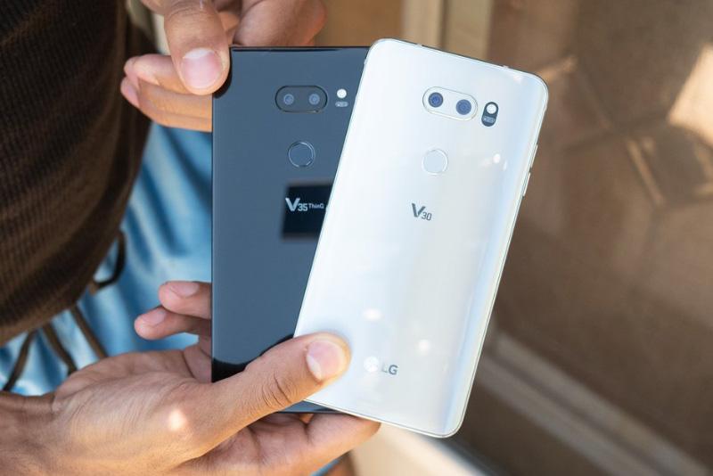 LG V30 LG V40 ThinQ Android