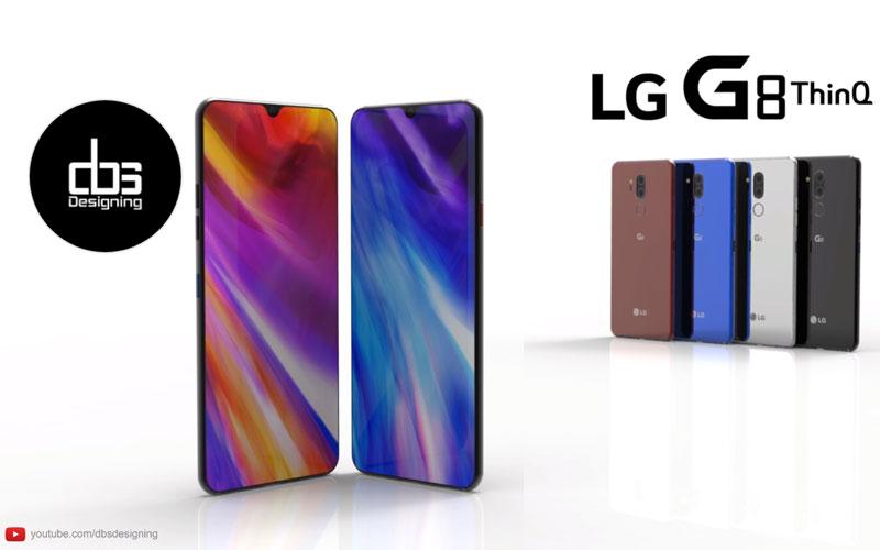 LG G8 ThinQ smartphone