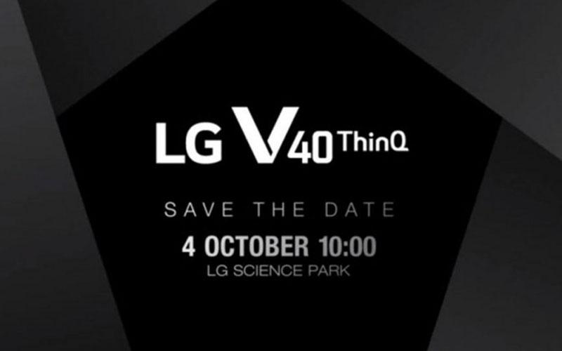 LGV 40 ThinQ Android apresentação