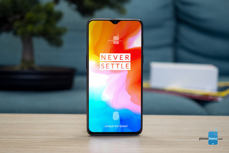OPPO R17 OnePlus 6T Android