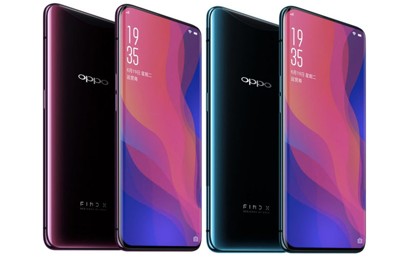 Oppo Find X smartphone Android Europa