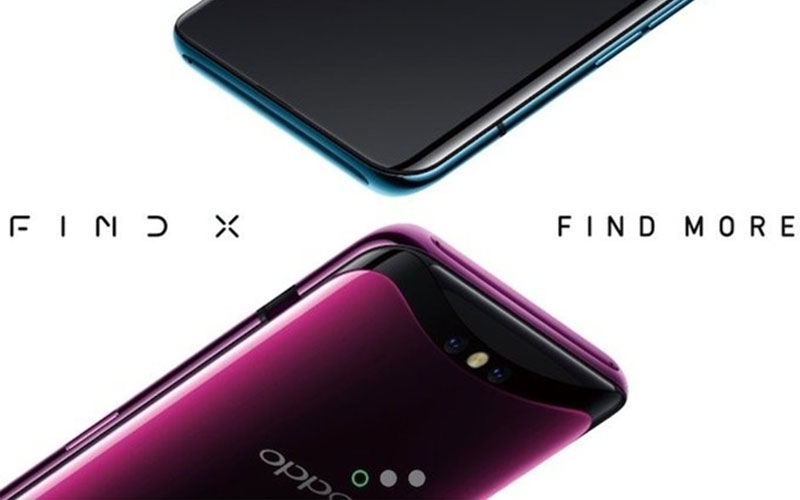 Oppo Find X 10GB RAM smartphone Android