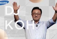 Samsung Smartphone Dobrável DJ Koh 4gnews