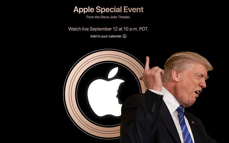 Donald Trump Apple preços 4gnews