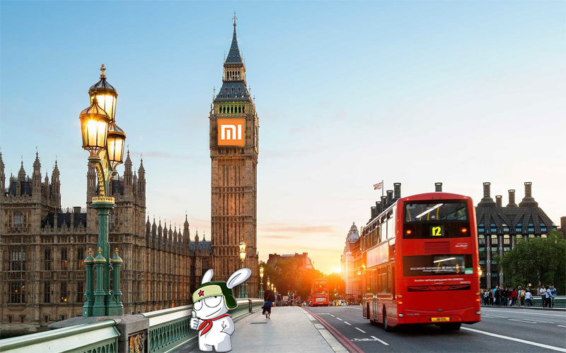 Xiaomi Londres 4gnews