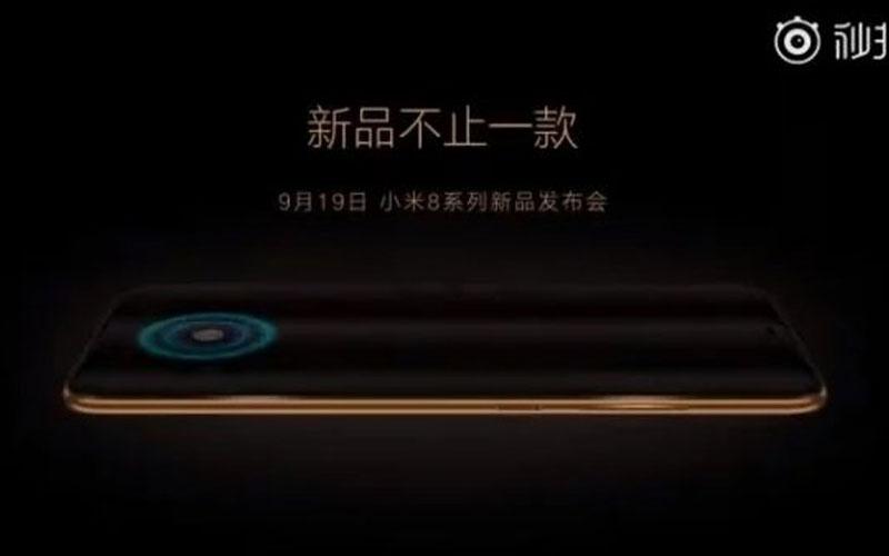 Xiaomi Mi 8 impressão digital 4gnews