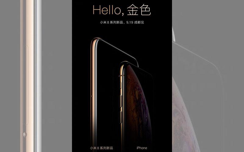 Xiaomi Mi 8X apple iphone 4gnews